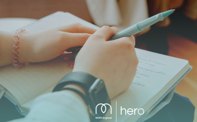 hero to work in collaboration with Mental Health First Aid (MHFA) England